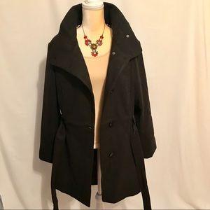 2bab5cfa248ef Madden Girl Jackets   Coats - Madden Girl NWOT Velvety Black Pea Coat Plus  Size